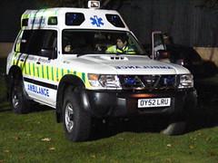 Ambulance OY52LRU, (m0sgb) Tags: victoriapark ambulance southport fireworksdisplay m0sgb oy52lru ne104