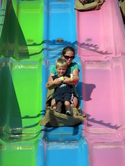 100 Things to see at the fair #99: Midway slide