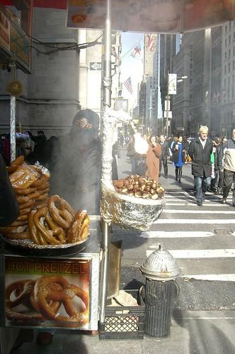 pretzels and nuts
