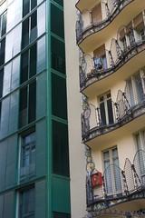 Casa Batll v. Postmodern Architecture (NYCviaRachel) Tags: barcelona spain gaudi casabatll