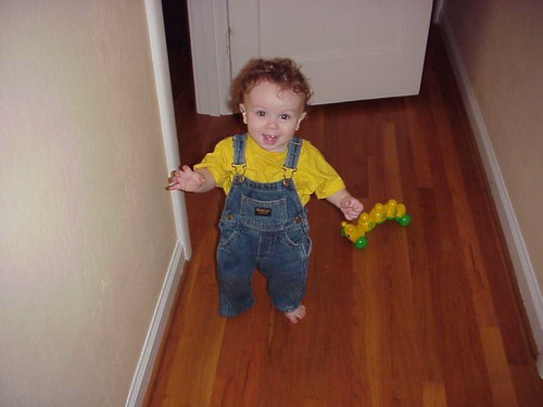 One-Year-Old Happy Walker Leo!