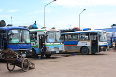 Vientiane bus station - Click to see more photos