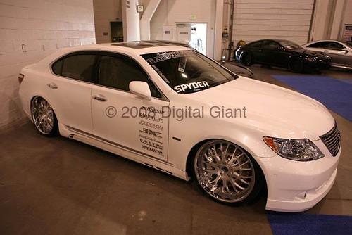Lexus Ls460 Rims. SEMA 08 - VIP Lexus LS460