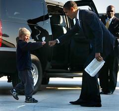 Obama y Ethan Gibbs