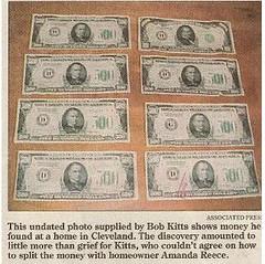 Ohio cash hoard 5hundreds