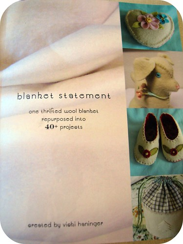 Blanket Statement Book by Vicki of Turkeyfeathers