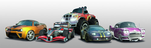 Burnout Paradise Toy Cars