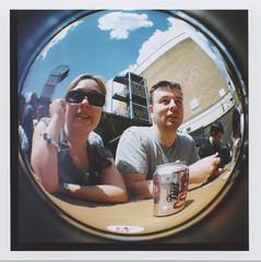 sam & mike (pfig) Tags: friends summer sky film lomo dianaf bricklane trumanbrewery pfig date:year=2008 date:month=june thaicaravan camera:make=lomo lens:focal=20mm camera:model=dianaf file:path=~picturesscansepsondiana file:name=img004tif