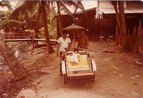 Rickshaw Kampung Malaya