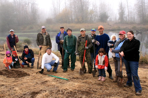Green Island McKenzie River restoration
