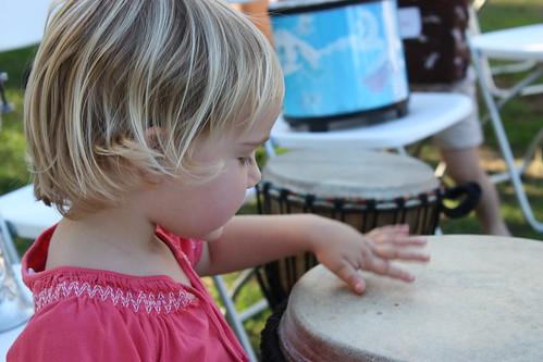 Drummer Girl - Testing 1,2,3