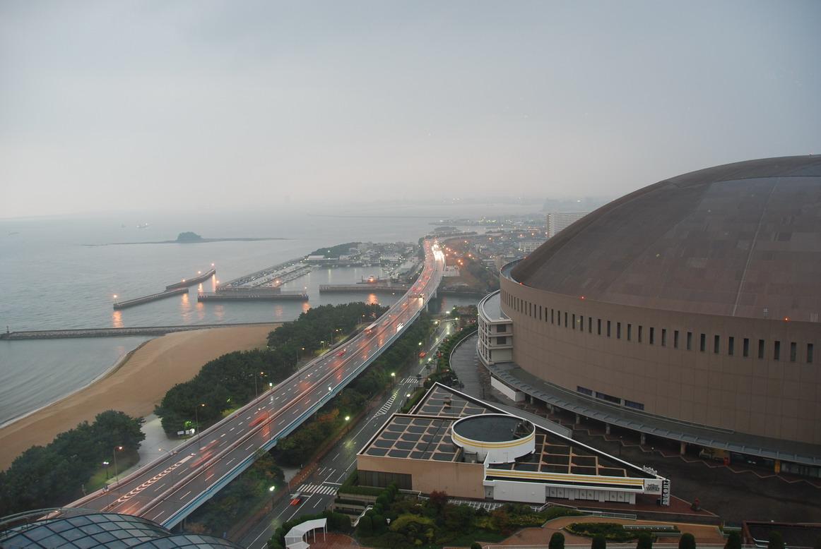 清晨的福岡巨蛋