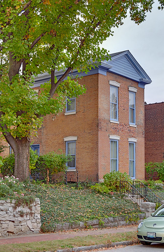 Lafayette Square Neighborhood, in Saint Louis, Missouri, USA - house 3
