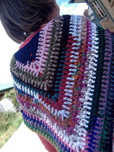 Triangle Shawl Free Crochet Pattern from the Shawls Free Crochet ...
