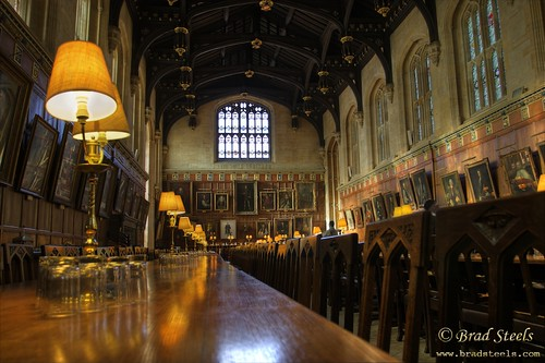 Dining Hall, Christ Church College, Oxford
