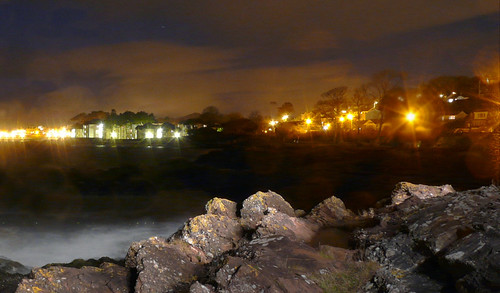 Largs at night 21Nov08