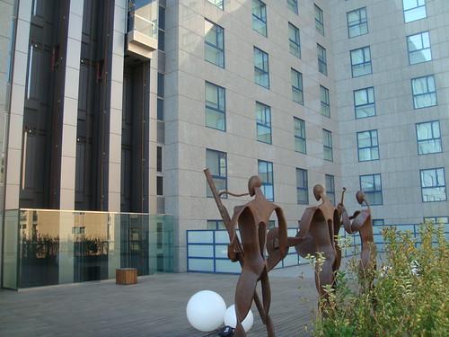 Vista desde la terraza del hotel de la primera planta