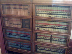 Law books in Chase County, Kansas