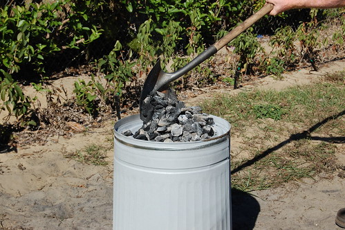 how to cook a turkey in a garbage can