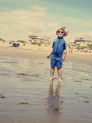 Smelly Pants (Michaela Edwards) Tags: summer beach spain orla ayamonte sunsuit