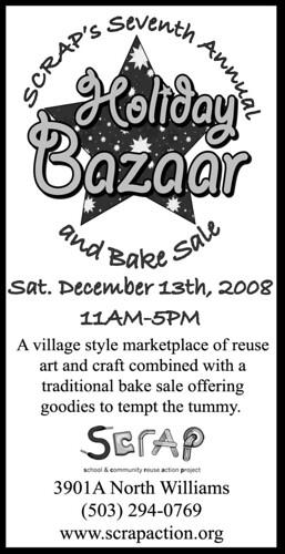SCRAP Bazaar AD