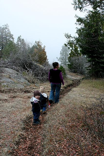 we hike