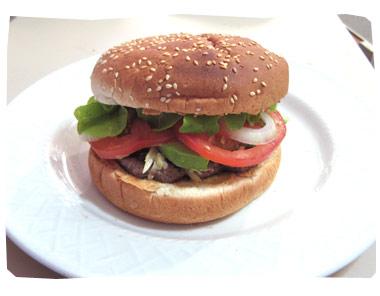 Cooking with Kids - Homemade Hamburgers