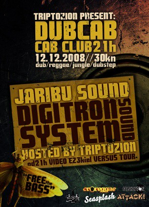 trip to zion cab club reggae dub party