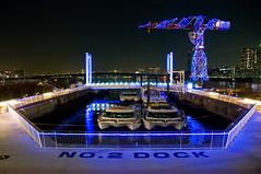 Blue Dock (Ballet Lausanne) Tags: light night geotagged tokyo d300 lalaport toyosu lalaporttoyosu geo:lat=356553253 geo:lon=1397919594