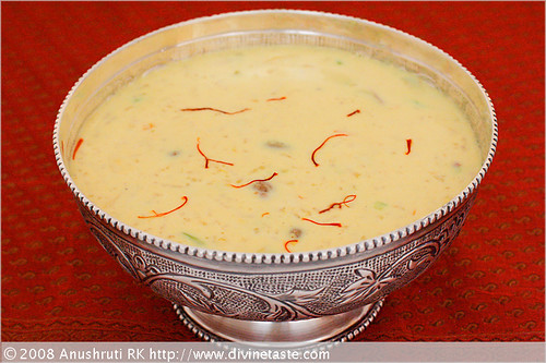 Kheer/Creamy Rice Pudding