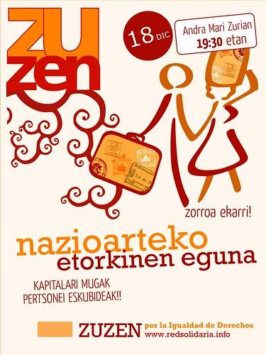 Zuzen por la Igualdad de Derechos, red solidaria de Vitoria-Gasteiz