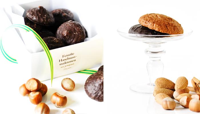 Glutenfree Hazelnut Macaroons & Almond Elisen Gingerbread
