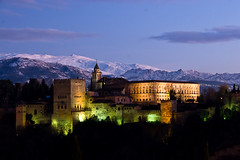 Alhambra at Night by Justin Korn