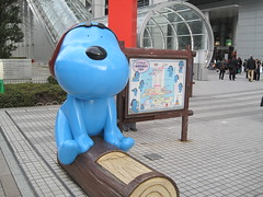 Laugh 犬 - 台場富士電視台