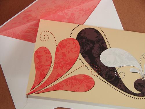 Swirl Card (Yellow)