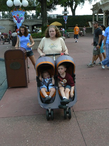 Walking to Main Street USA