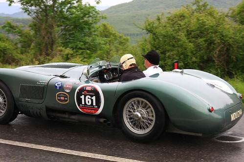 Copyright by B Egger Jaguar CType Mille Miglia eumoto 2587