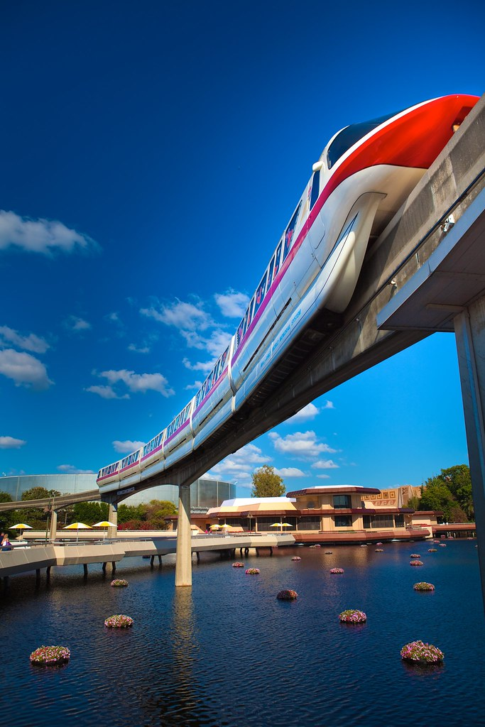 Walt Disney World Monorail System - Your Express Highway in the Sky