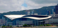 Hong Kong Convention & Exhibition Centre (travelhaha) Tags: friends hongkong wanchai kartpostal