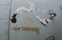 Boeing EC-135E ARIA  nose art 9x6 (grobianischus) Tags: ohio art museum nose us force c air e boeing 135 dayton aria ec135e