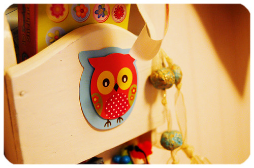 Paper owl decoration (Copyright Hanna Andersson)