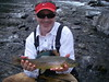 Bill discovers a Trophy Brown Trout fly fishing the McCloud River