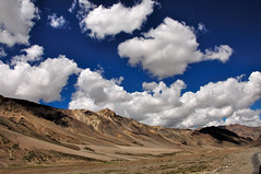 road to heaven! (Sid Verma) Tags: blue india clouds nikon skies leh himalayas ladakh d90