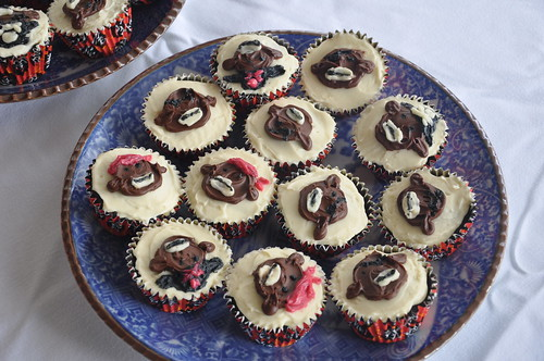 Pirate Monkey Cupcakes