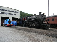 The Tennessee Valley Railroad Museum Steam Engine #630 (bluerim) Tags: museum tennessee 630 thomasthetankengine steamlocomotive chattanoogatn backshop tennesseevalleyrailroadmuseum eastchattanooga souleshops