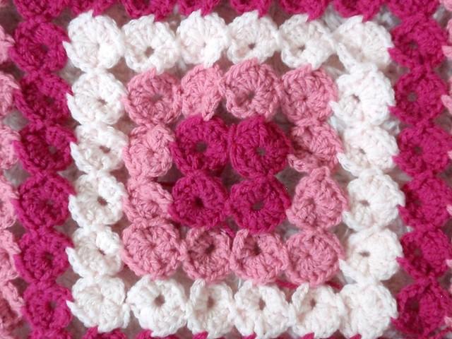 Yo Yo Blanket In Progress Jenn Likes Yarn