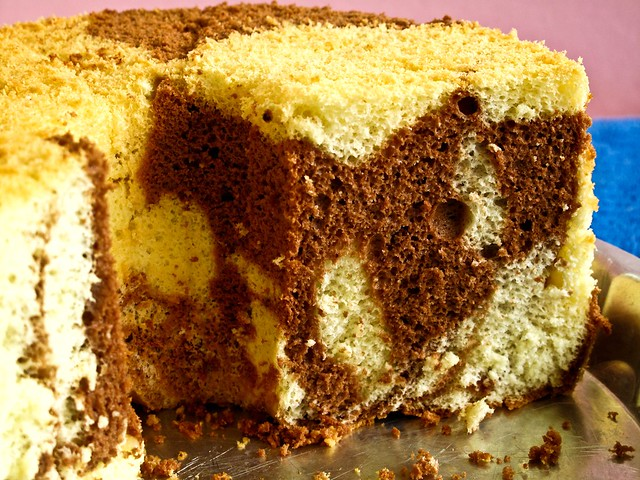IMG_0826 Chocolate Marble chiffon cake