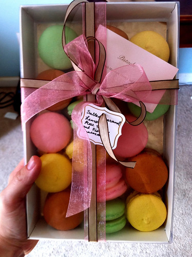 Macarons from Pistache Pastry