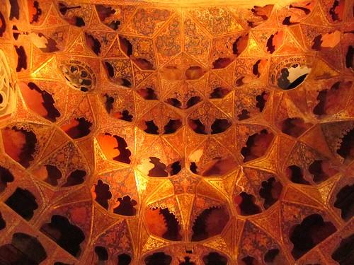 The ceiling of Dar-al-Huffazz.