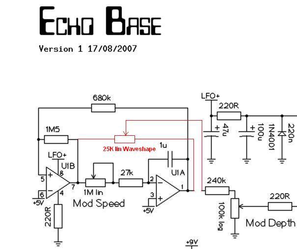 Echo Base A New Pt2399 Delay